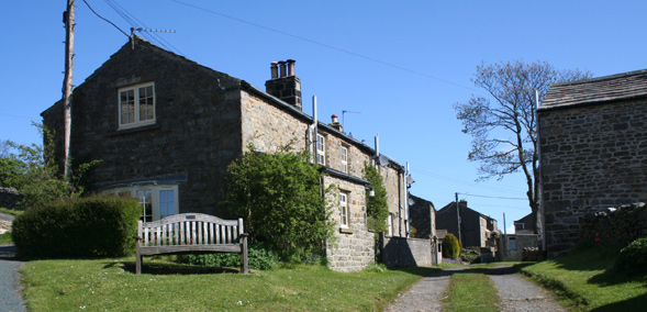 Horsehouse village in Coverdale