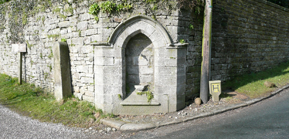 An early public water supply at Burnsall